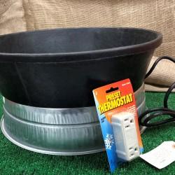 Heated Watering Combo