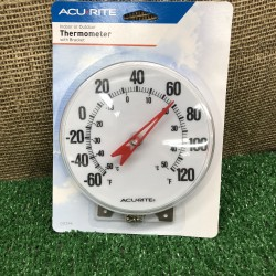 Round Thermometer & Mount